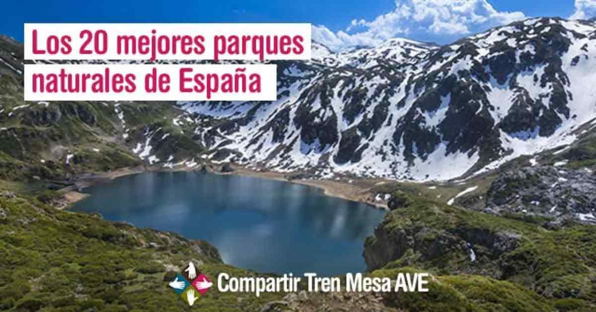 Los 20 mejores parques naturales de España