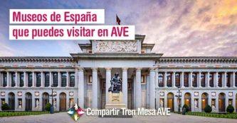 Museos de España que puedes visitar en AVE